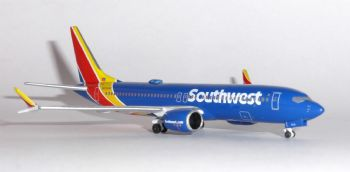 Boeing 737 MAX 8 Southwest Airlines Aeroclassics Collectors Model Scale 1:400 N8706W   E
